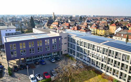 Solardach Rathaus
