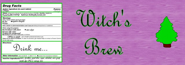 Potion Label: Witch's Brew | Flickr - Photo Sharing!