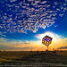 Groovik's Cube, Sunrise, Burning Man 2009 by Michael Holden