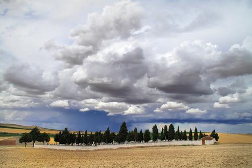 Graveyard in Ataquines
