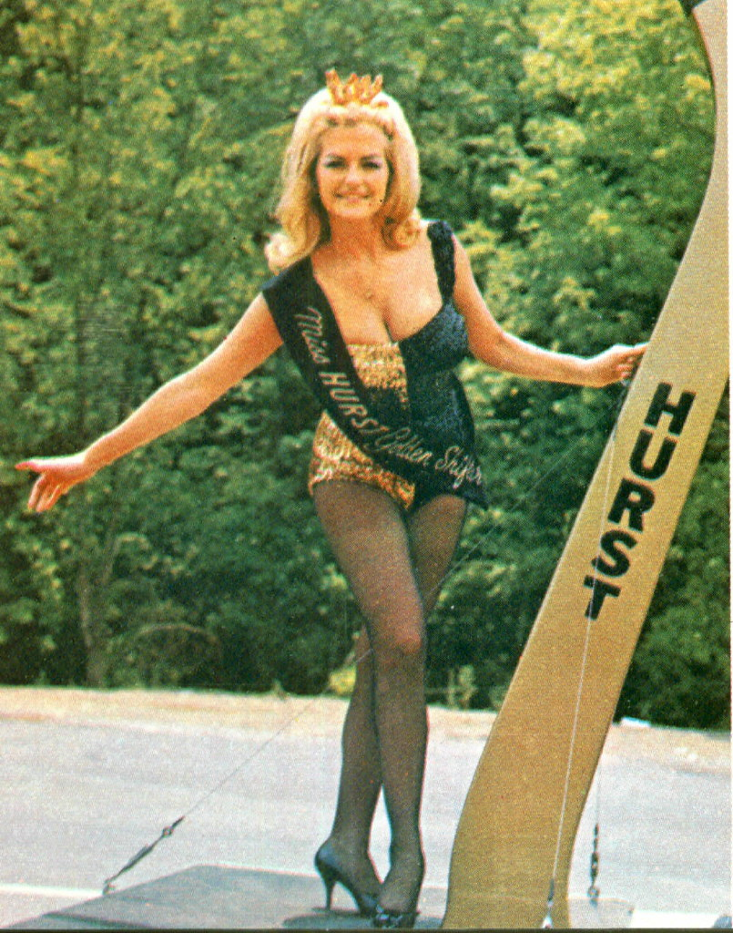 1966 Linda Vaughn Hurst Golden Shifter Girl A Photo On