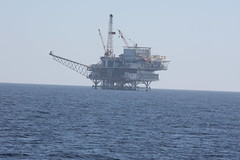 Oil Platform in the Santa Barbara Channel, California 2