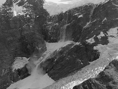 A Little Avalanche at Mt Cook