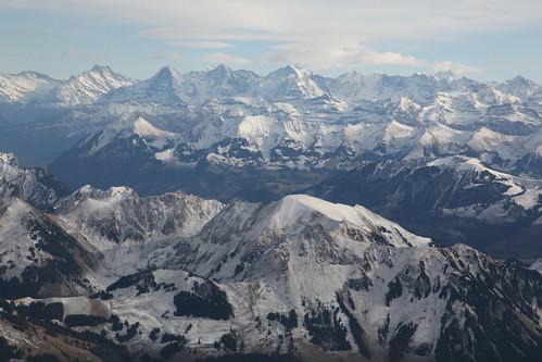 Vol au dessus de la Suisse