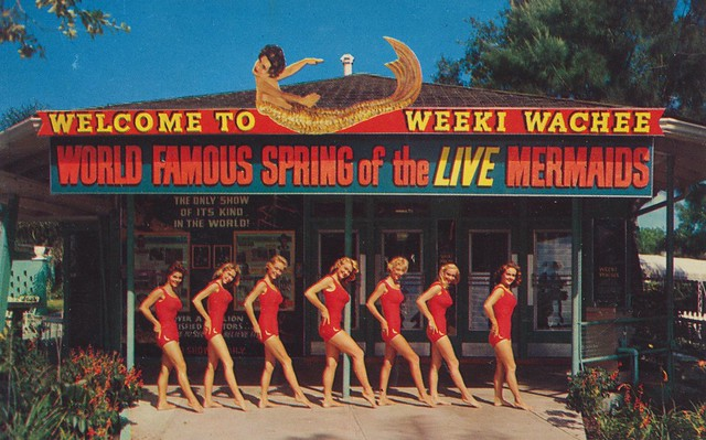 Welcome to Weeki Wachee - Spring of the Live Mermaids
