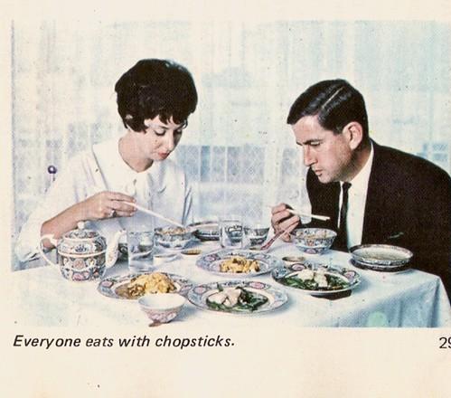 Everyone Eats With Chopsticks...