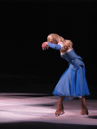 Disney princess on ice