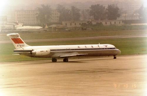 CAAC MD-82 B-2122(cn1400)