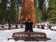 Valerie and General Sherman