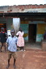 Children on the road to Kampala, Uganda