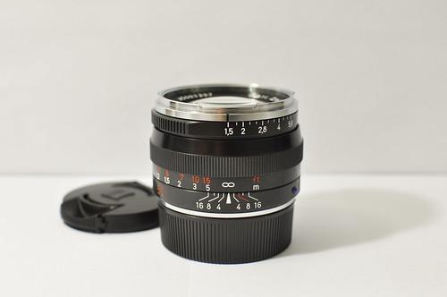 Zeiss C Sonnar T* 50mm f1.5 ZM