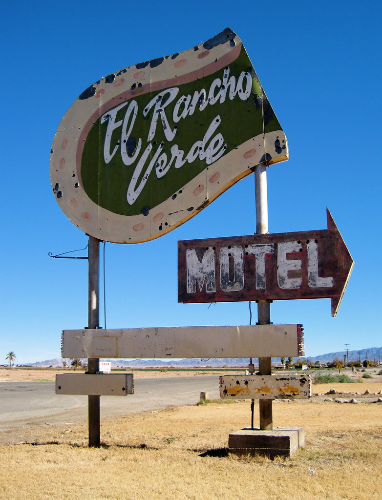 El Rancho Verde Motel - Blythe, California U.S.A. - January 2, 2010