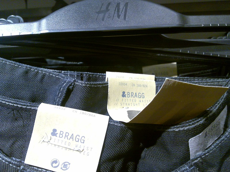 Bragg jeans in H&M