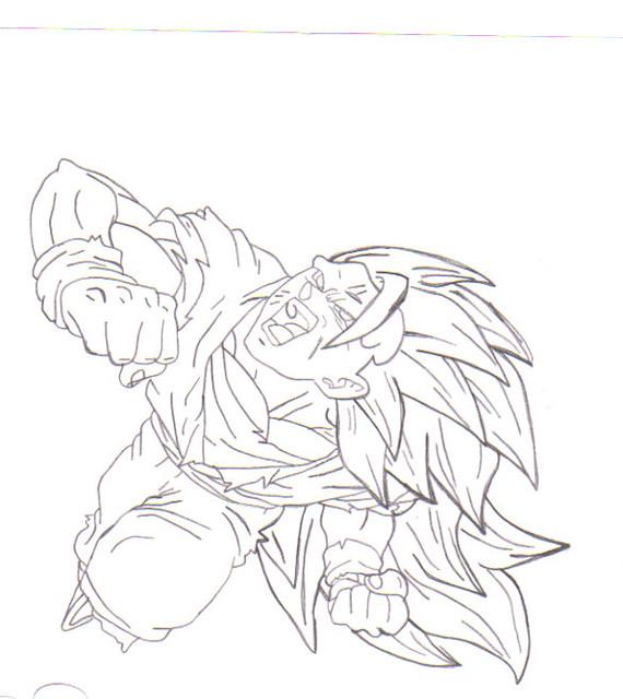 Super Saiyan 3 Goku Took Me About 3 Hours B Shagnasty