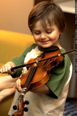 """""""if i play violin, can i stay up late too?"""" """"…sure!"""""""