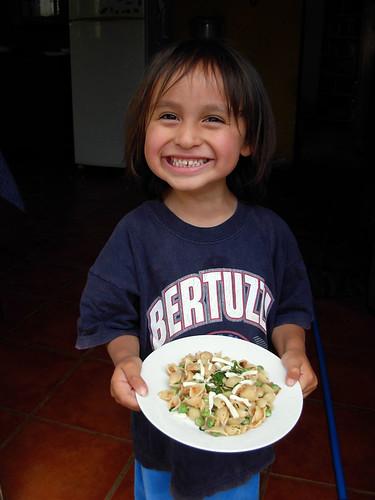 Dorian's peas and pasta