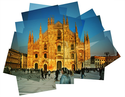 Panography / Panografia Duomo Milan