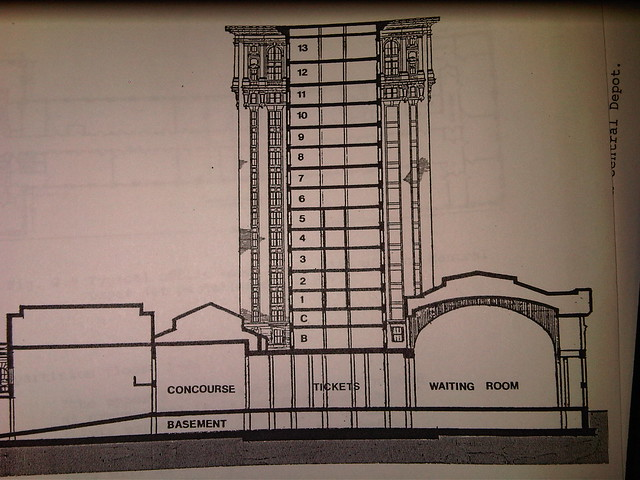 Side View Of Michigan Central Station Plans Not Sure If Flickr Photo Sharing