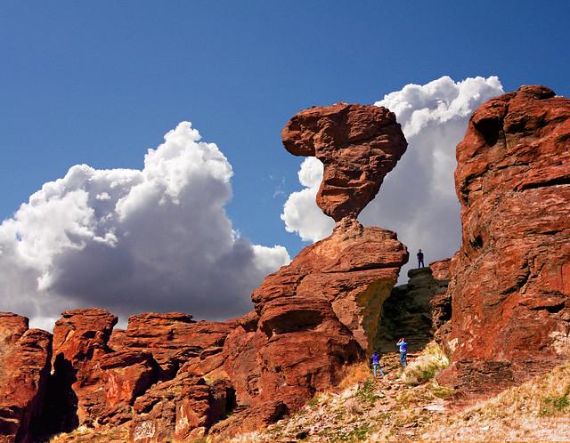 Balanced Rock Near Castleford And Buhl Idaho Flickr