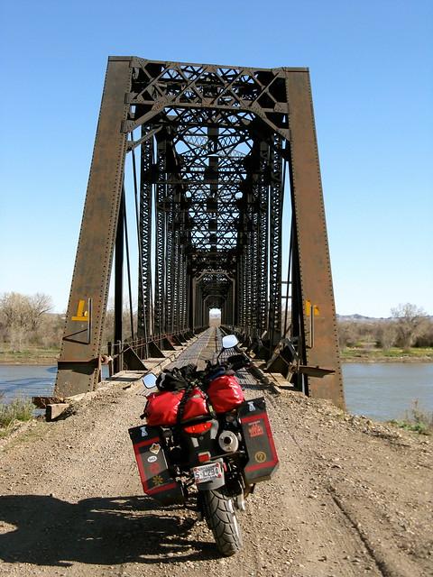 Milwaukee road kinsey bridge montana flickr photo for Milwaukee motor vehicle department