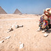 'Chillin', Egypt, Cairo, Pyramids of Giza