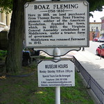 Boaz Fleming Historical Marker