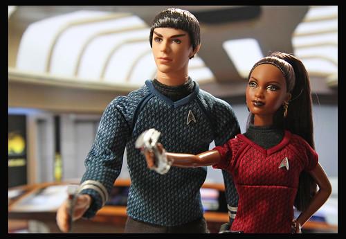 Spock and Uhura by DollsinDystopia