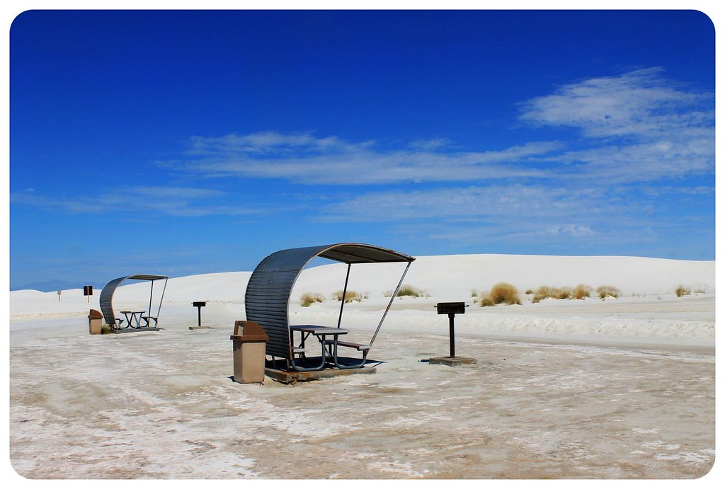 White Sands New Mexico picnic area