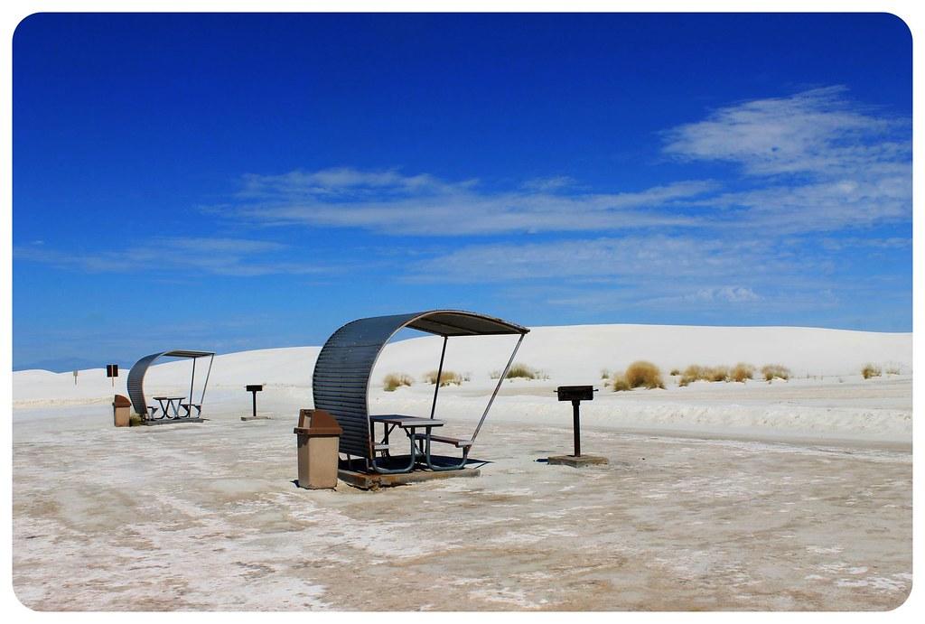 White Sands New Mexico picnic area