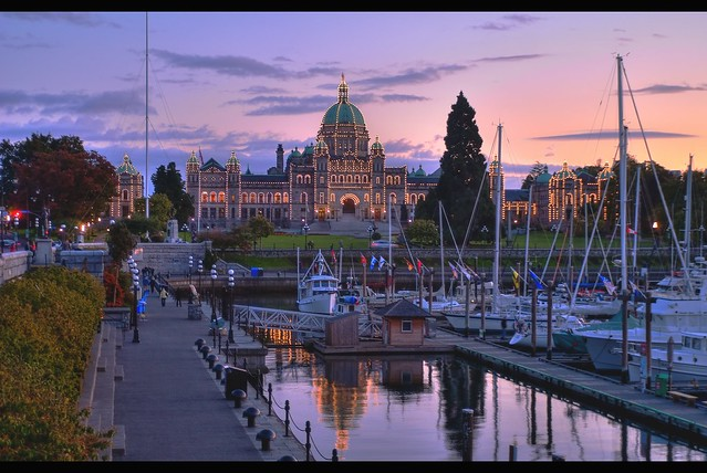 Victoria, British Columbia Sunset