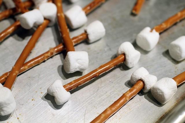 pretzel and marshmallow bones 2 | Flickr - Photo Sharing!