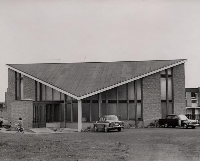 022078:St. Wilfrid's Church Newbiggin Hall Unknown 1971