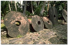 Yap stone money