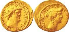 RRC 533/3 Aureus Antony Octavia