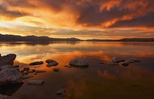 california park county sunset sea southwest sunrise desert riverside state salton