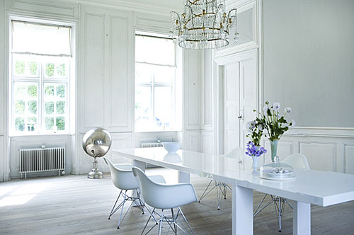 Dining room via Tia Borgsmidt