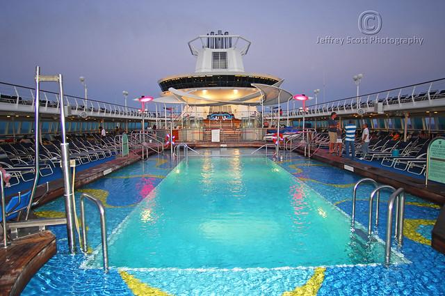 Cruise Ship Pool At Night  Flickr  Photo Sharing