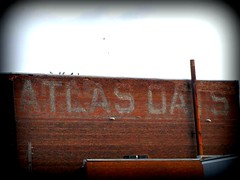 Atlas Oats ghost sign