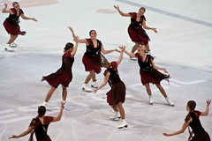 skating, ice dancing, winter sport, sports, recreation, modern dance, ice skating, synchronized skating, figure skating, dance, choreography,