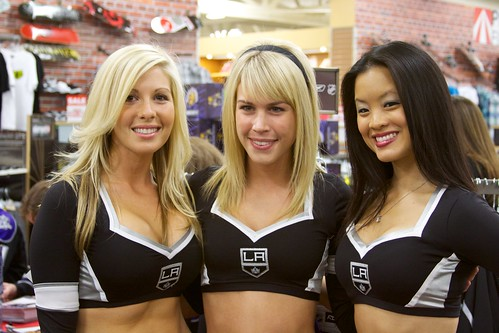 LA Kings Ice Girls