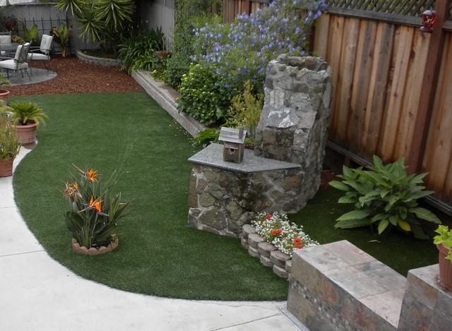 Backyard Turf Installation : Artificial Turf Installation  San Mateo 2  Flickr  Photo Sharing!