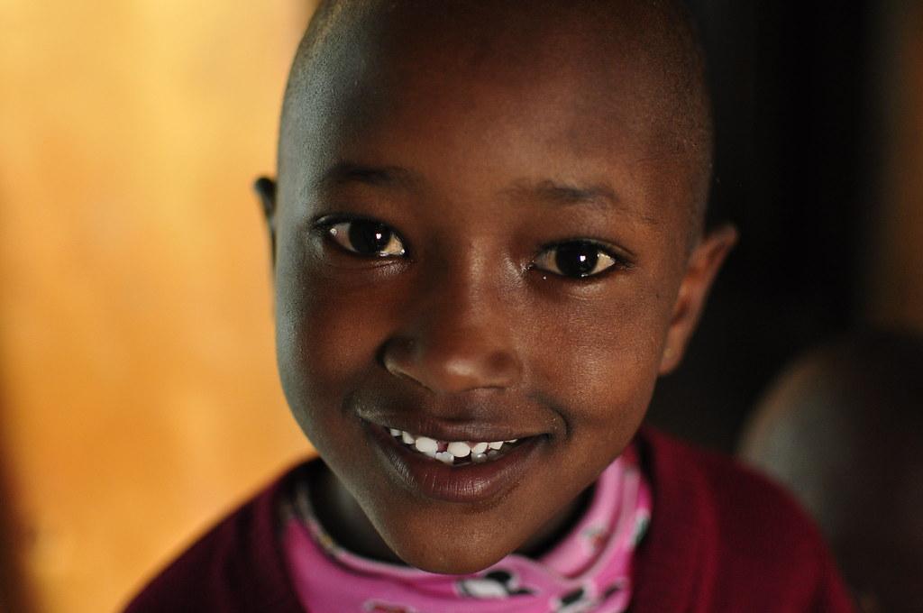 Beautiful Maasai Girl