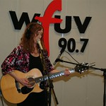 Patty Larkin performed live on the air on and for Marquee Members in Studio A on 3/18/10 .  photos copyright 2010 -gaylemiller.com