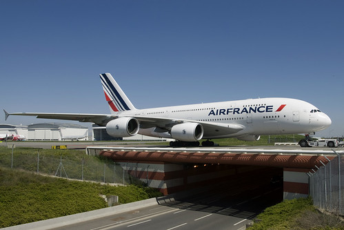 Flickriver photoset 39 airbus a380 39 by curufinwe david b - Comptoir air france toulouse ...
