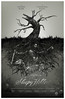 Sleepy Hollow Drypoint Etching by Mike David Godwin