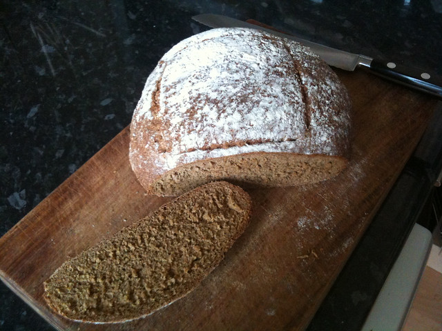 Guinness and molasses bread cut open | Flickr - Photo Sharing!