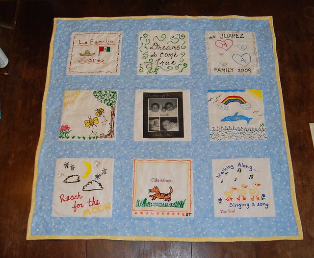 Baby Shower Quilt Square Ideas Quotes