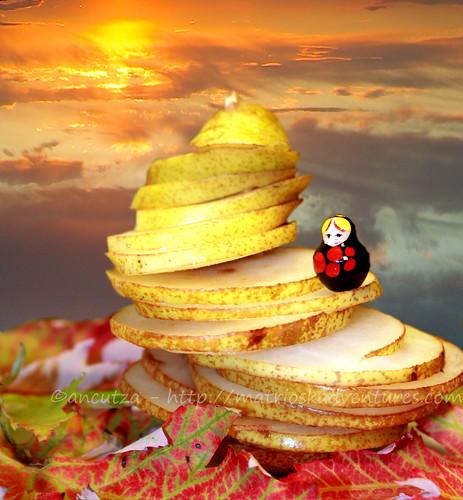 Matrioska with a pear by ancutza*