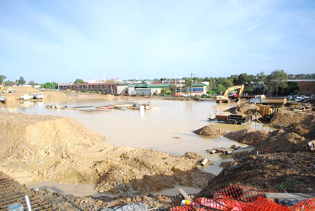 Flooded Construction Site | Flickr - Photo Sharing!: www.flickr.com/photos/avlxyz/4127225903