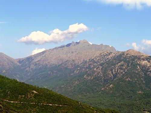 sky white mountain france nature skyline clouds montagne day corse corsica vert panasonic clear bleu ciel nuages blanc brume maquis méditerrannée